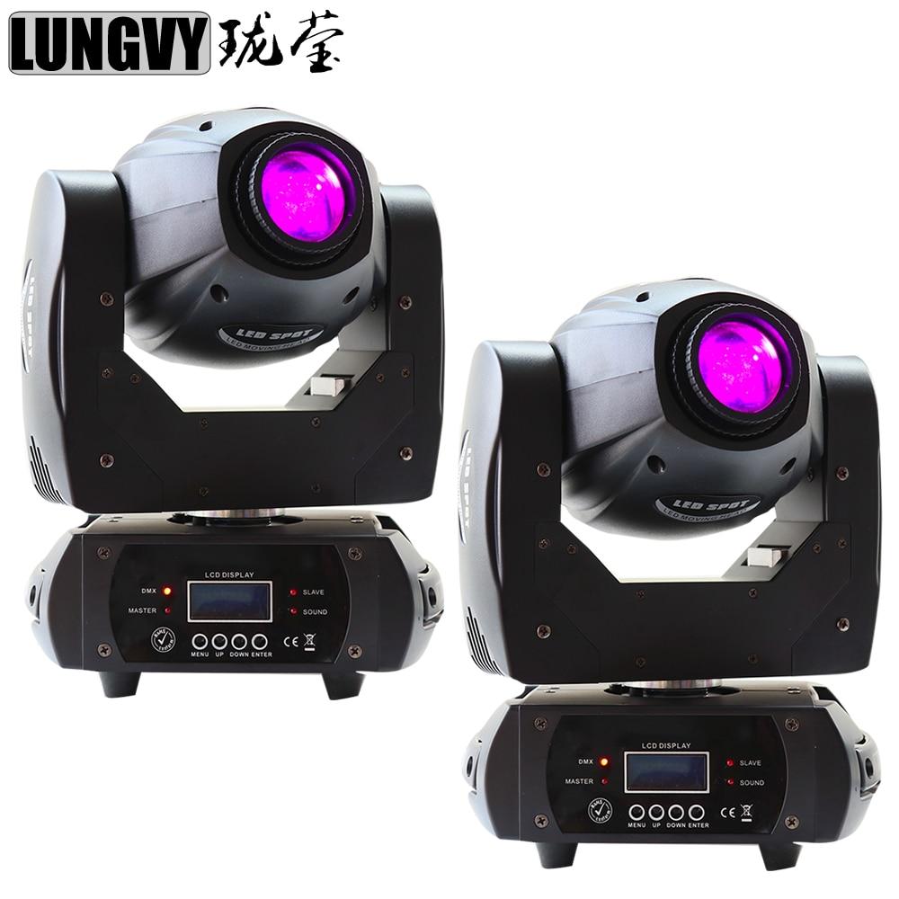 Free Shipping 2pcslot Mini Spot 68W LED Moving Head Light With 1012CH ,High Brightness 68W Mini Led Moving Head