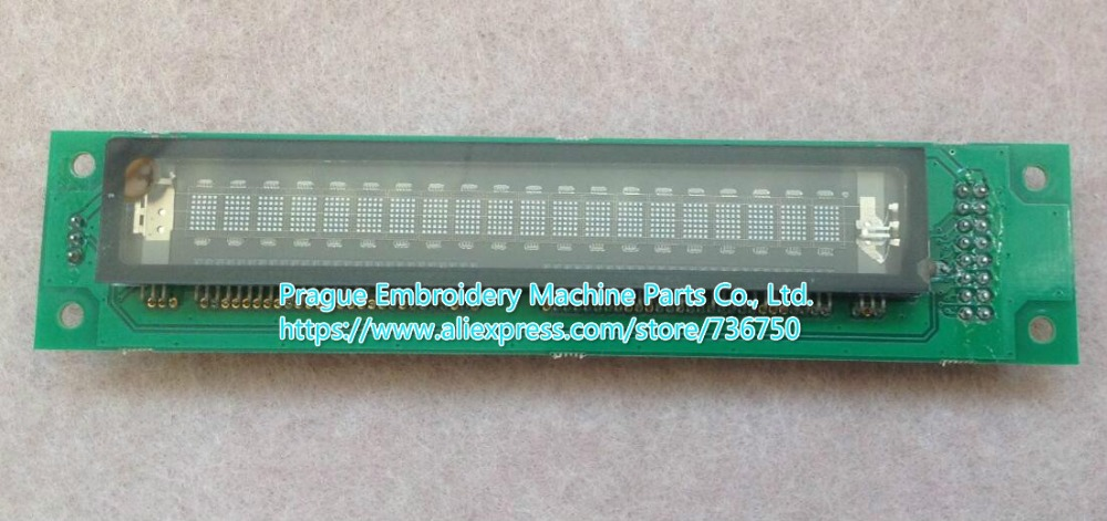 Tajima embroidery machine spare parts genuine panel display 20S102DA3 REV I