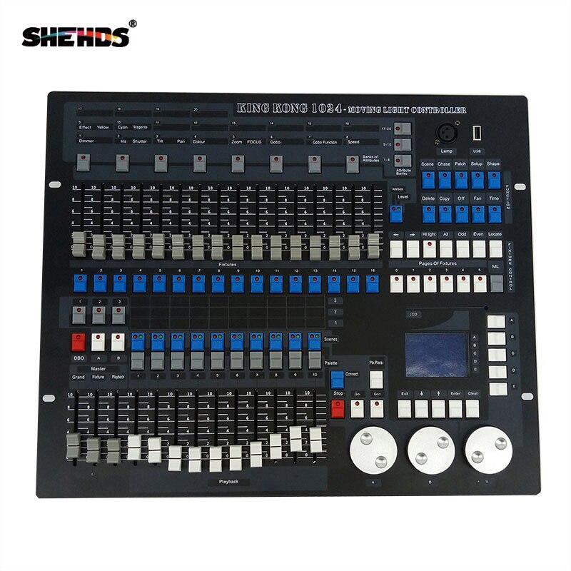 1024 Canais DMX512 Consola Controlador DMX Equipamento DJ Discoteca Iluminação DMX Consoles Profissionais Luzes Do Palco Equipamento de Controle
