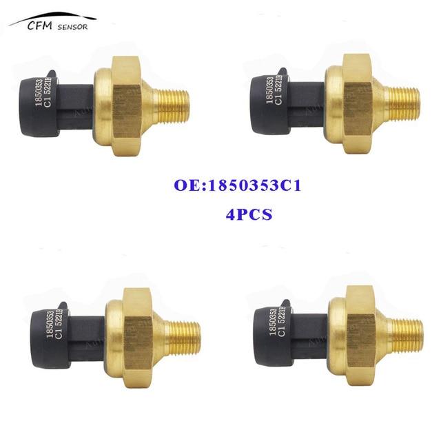 4PCS 1850353C1 EBP Exhaust Back Pressure Sensor For Ford Powerstroke 97 03 73L