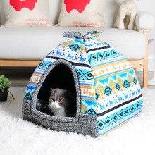 Cama de cachorro pequeno macio casa de cachorro sofás cachorro gato canil pequenos animais casa dormir camas com tapete chihuahua cama
