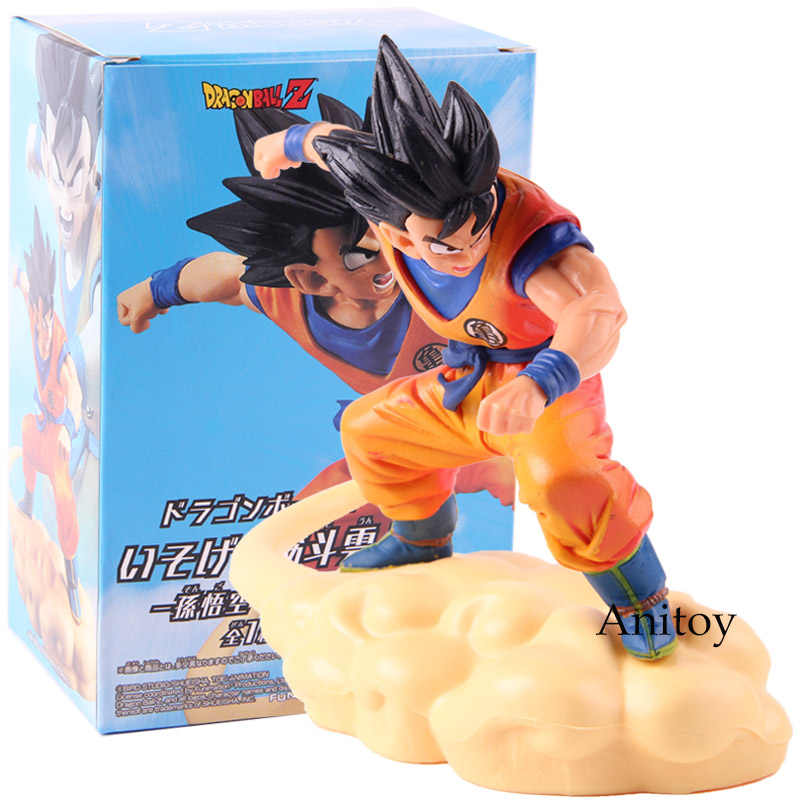 Dragon Ball Z Son Goku Son Goku PVC Action Figure Collectible Modelo Toy Cambalhota Nuvem