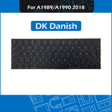 New A1989 A1990 Replacement keyboard DK Danish Layout for Macbook Pro Retina 13″ 15″ A1989 A1990 Denmark Keyboard Mid 2018