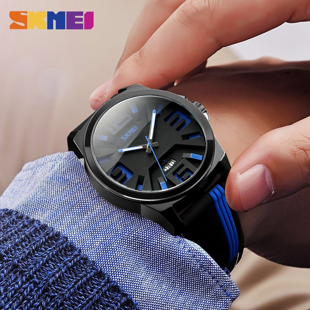 SKMEI Fashion Personality Quartz Watches Men Watch 30M Water Resistant Unique Luxury Wristwatches 9171 skmei 9058 men quartz watch page 5