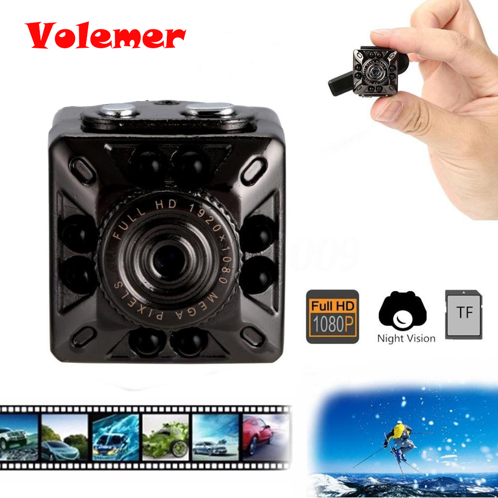 High quality Micro SQ10 Mini 1080P Full HD IR Night Vision DV Camera Car DVR Video Recorder Mini Camera Camcorder PK SQ11 SQ8