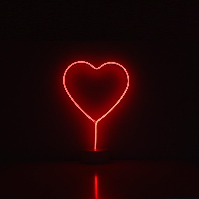 Iluminação de néon Vermelho Estrelas Projeto Da Forma Da Árvore de Natal Decoração de Coco Flamingo Cafe Da Família Sala de Artesanato Decoração Luzes de Néon em Luminárias de mesa de Luzes e Iluminação no AliExpresscom  Alibaba Group