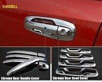 Car Door Handles Covers For Chevrolet Lacetti Optra Daewoo Nubira Suzuki Forenza Holden Viva Sticker Chrome