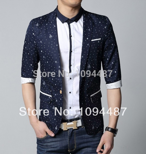 Popular Short Sleeve Blazer Jacket Men-Buy Cheap Short Sleeve ...