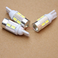 Dianshi T10 Canbus 10SMD 5630 5730 FREE ERROR Auto LED BULB Lamp W5W 6000k Canbus Interior Light