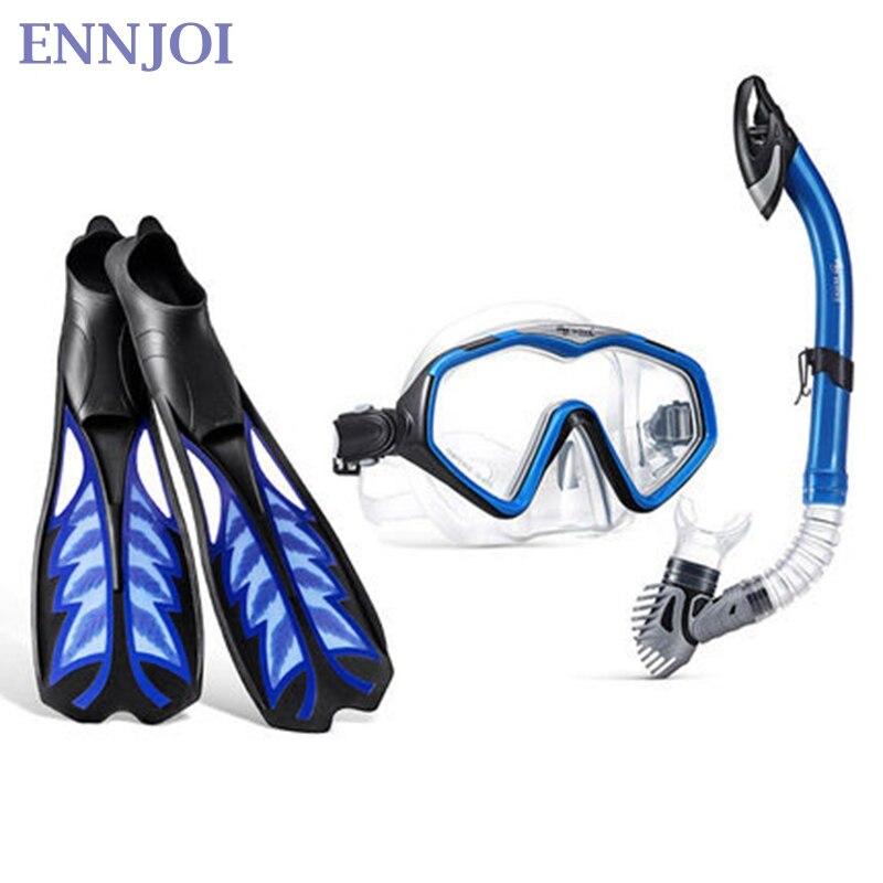 Gel de silice nageoire de plongée nage en apnée Foots longues palmes de plongée Sport aquatique pour natation palmes de plongée outil d'entraînement - 2