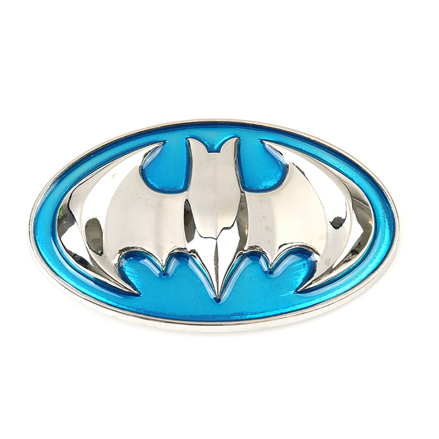 Aliexpress Buy Raised Blue Batman High Quality Belt Buckle