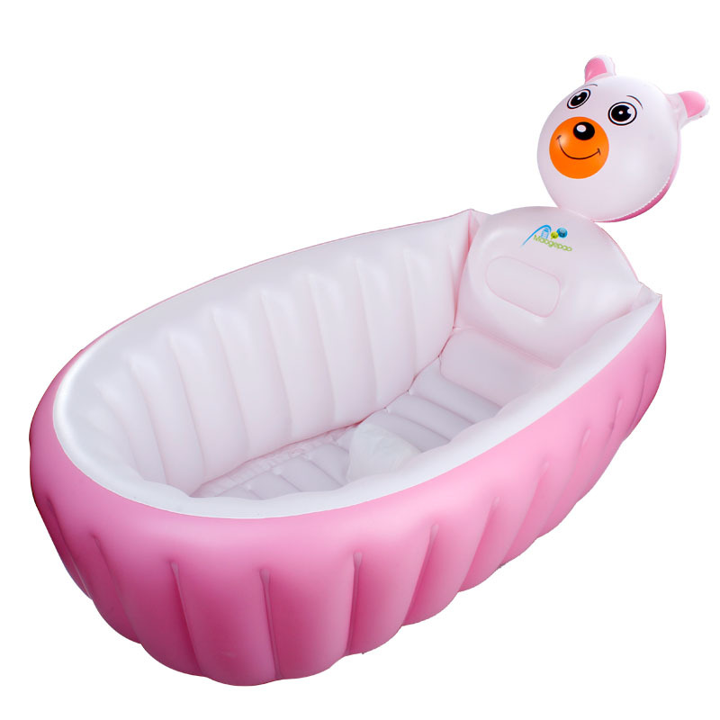 031449 Hot 100*30cm GREEN PVC inflatable Baby Bath Tub Thick&soft ...