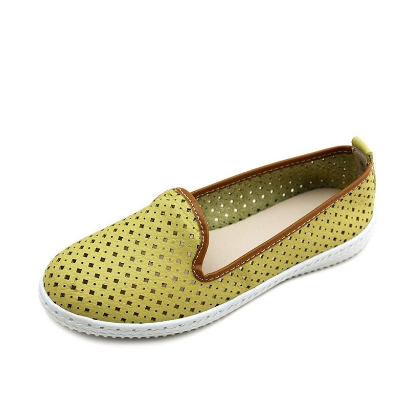 Féminine Travail De Green Cuir Nouvelle White La Infirmières yellow Gladiateur Vache fruit Mode Scission Évider Muscle Appartements blue Chaussures En 2018 Sandales Femmes D'été P1q6zYw