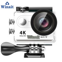 Winait Mini Sports DV 170D Fisheye Lens Utlra HD 4k Camera Built In WIFI 30M Underwater Time Lapse Android And IOS