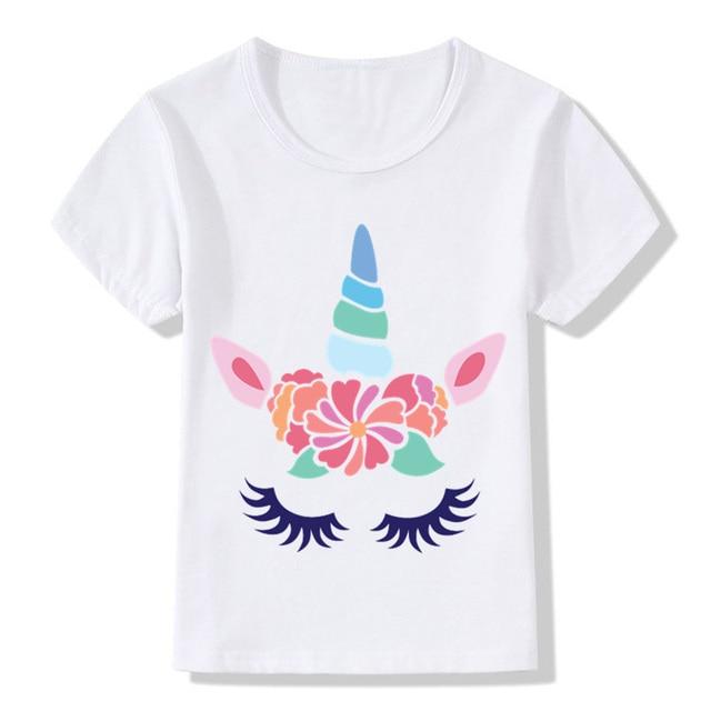 8bba68110 Αγορά Αγόρια ' ρούχα | Cute Unicorn Face Design Children Funny T ...