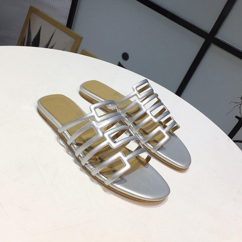Designer De Diapositives Pic Chaussures En Vacances Pic Femmes D'été As as Mujer Plage Luxe Air Pantoufles Zapatos Femme Dames Plein w0qCqzt