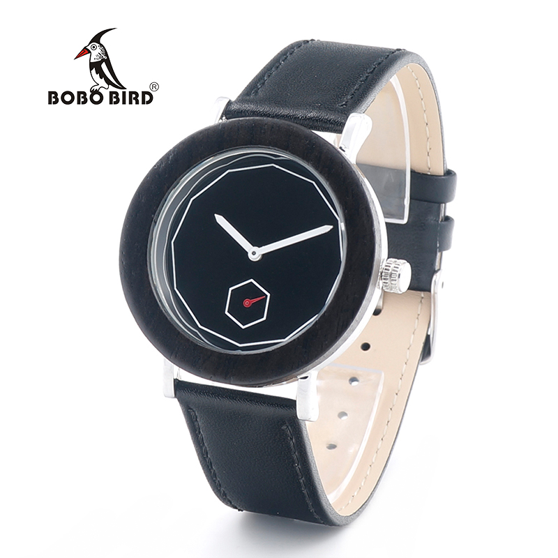 ФОТО BOBO BIRD N10 2017 Newest Wooden Watches Brand Designer Quartz Movement Reloje Mujer with Leather Band OEM Customize