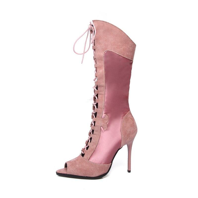 e7adce5a Karinluna nuevo más tamaño 34-51 sólido plisado deslizamiento en altura  aumento zapatos mujer Casual