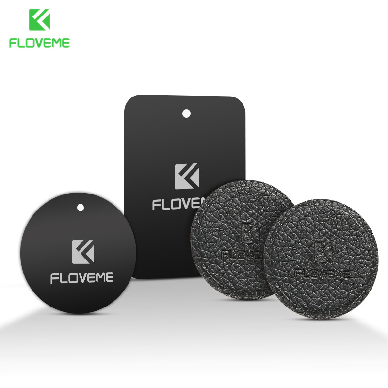 FLOVEME Original Metal Plate Universal Iron Sheet Replacement Metal Plate Used For Magnetic Car Phone Holder Magnet Stand Mount