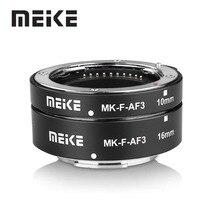 Meike MK F AF3 מתכת אוטומטי פוקוס מאקרו הארכת צינור עבור Fujifilm X T20 XT2 X T10 XT3 XT100 X H1 X A5 X PRO2 X A1 X T1 XT30 X T4