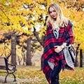 Za Outono Inverno Cachecol Xadrez Venda Direta Da Fábrica Cachecol Marca De Luxo Macio Cores Sortidas Manta Pashmina Envoltório Do Xaile do Lenço