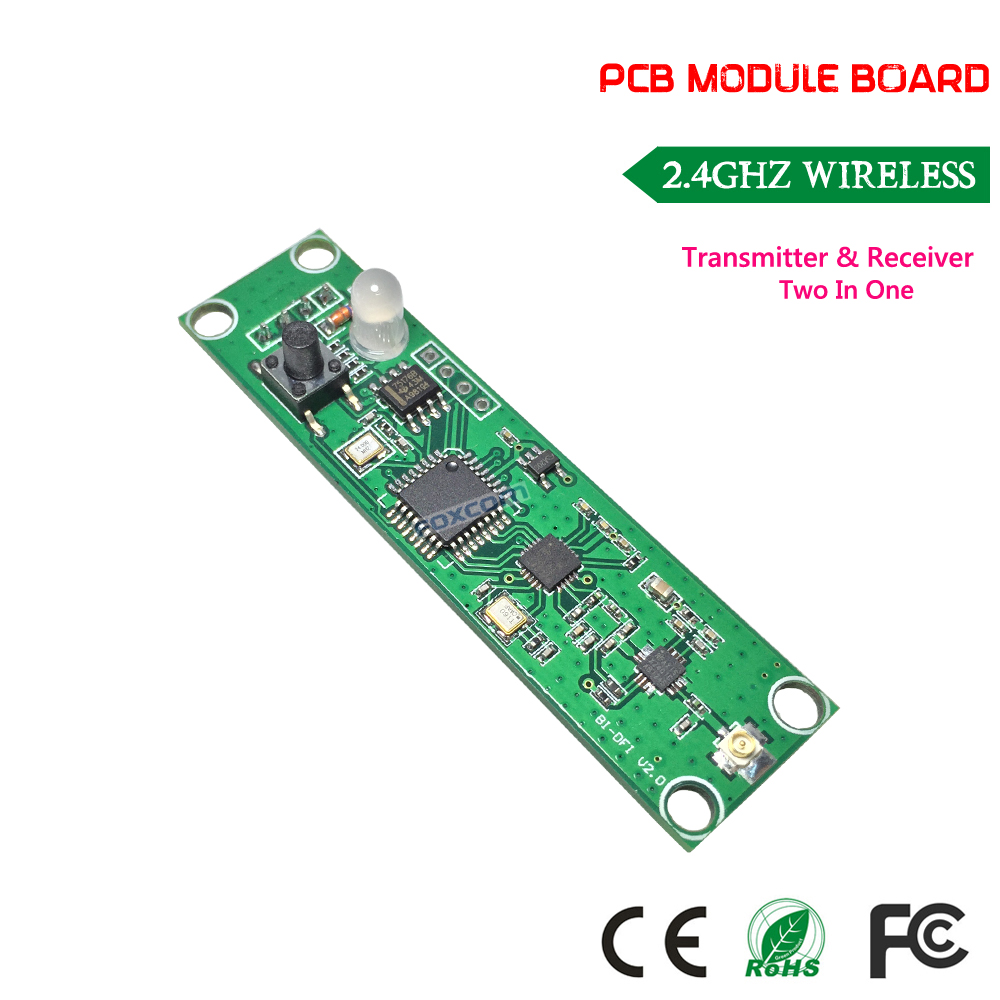 DHL free shipping factory wholesale new system 300pcs/lot PCB Wireless dmx512,Wireless dmx512 pcb for wireless stage lighting