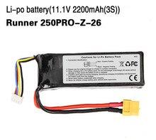 Walkera Runner 250PRO-Z-26 3S 11.1 V 2200 Mah Lipo Battery for Walkera Runner 250 PRO GPS Racer Drone RC Quadcopter