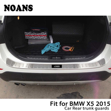 NOANS для BMW X5 F15 авто задний багажник дверь Бампер анти полоски от царапин нержавеющая сталь аксессуары