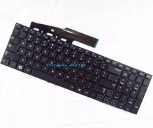 Novo teclado para samsung 300e7a 305e7a np300e7a np305e7a série eua preto teclado do portátil