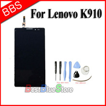 Replacement For Lenovo VIBE Z K910 LCD Display with touch Screen digitizer Assembly +tools Free Shipping high quality replacement lcd display touch digitizer screen assembly complete for lenovo p780 free shipping