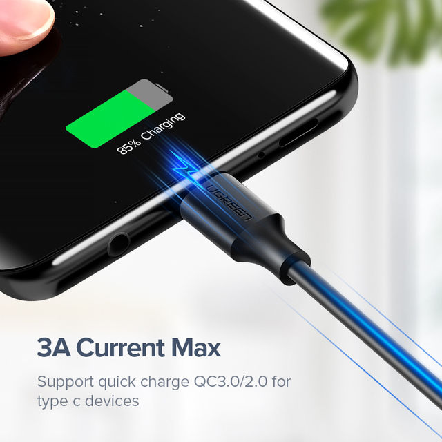 3A USB Smartphone Data Cable Fast Charging