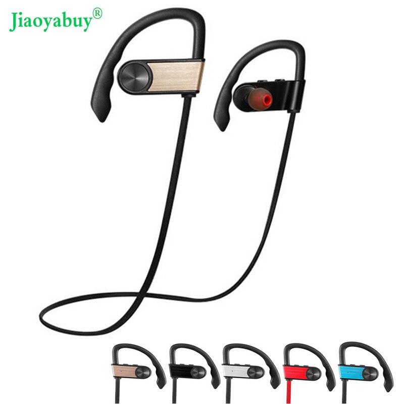 bilder für Jiaoyabuy drahtlose bluetooth kopfhörer sport kopfhörer stereo sport headset für iphone samsung tablet pad