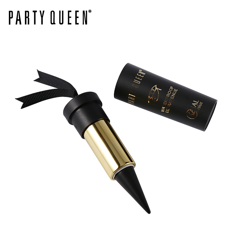 Party Queen Eye Enhancing Black Kajal Eyeliner Stick Sólido Thick - Maquillaje - foto 3