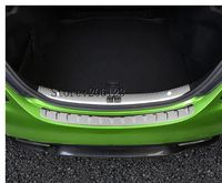 Rear Tail Bumper Sill Protector Trim Cover Plate For Mercedes Benz C Class W205 2014 2015 2016 2017 C180 C200 C250 C300 C400 C63
