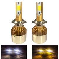 YHKOMS H7 LED Headlights H4 LED 9005 HB3 9006 HB4 H8 H11 880 881 H27 H1