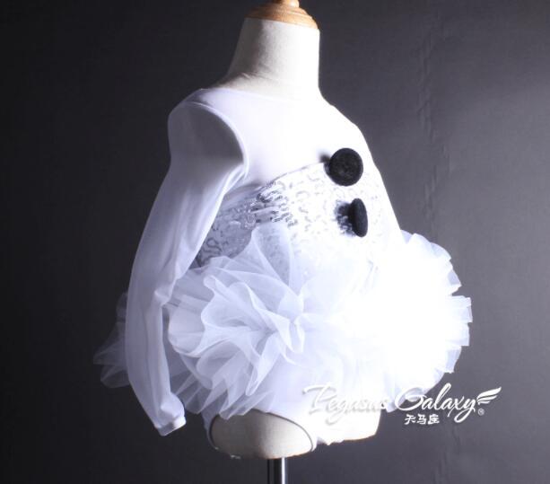Ballet tutu enfants collants blancs ballet infantil ballet fille vêtements ballet danse