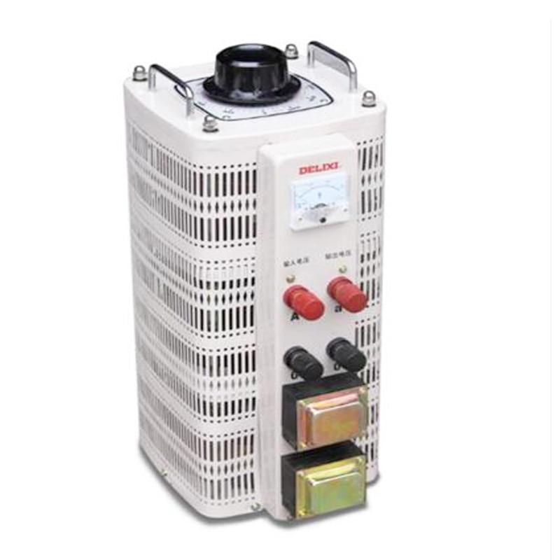 15kVA Voltage Adjustable Regulator Output 0V-250V Power Converter Single Phase Regulator Input 220V Transformer TDGC2