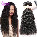 4 Bundles Wet And Wavy Virgin Brazilian Hair Water Wave Brazilian Virgin Hair Water Wave  Virgin Hair Curly Human Hair Bundles