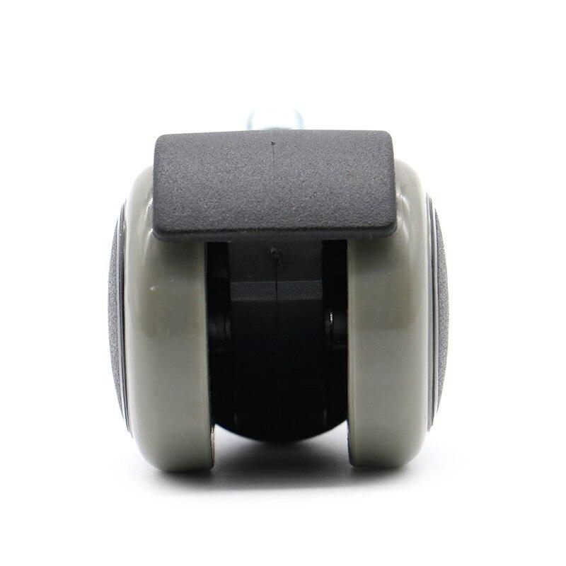 NAIERDI, 5 шт., 50 кг, универсальное бесшумное колесо, 2 дюйма, сменный вращающийся ролик для офисного кресла, роликовые колеса, мебельная фурнитура