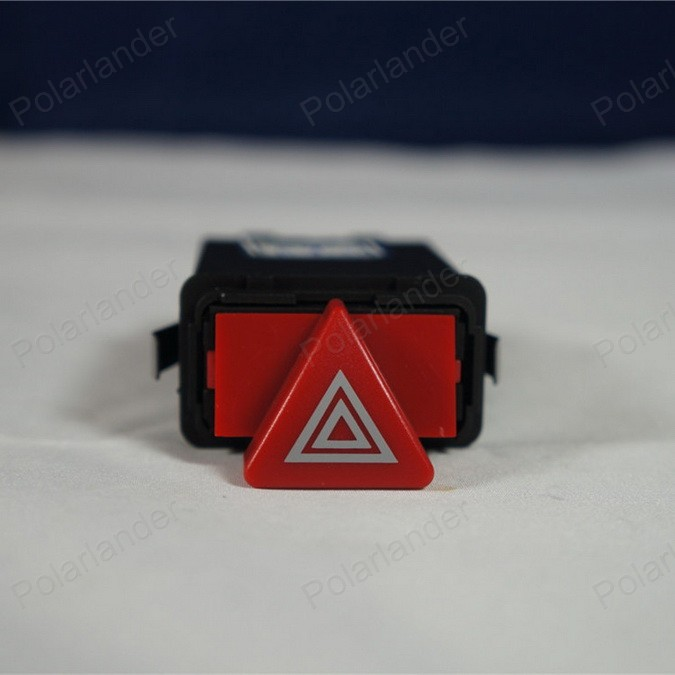 9 pin Warning Lamp Switch 4B0 941 509 c for A-udi A6 C5 Dual Flash Switch