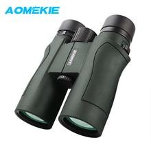 Wholesale prices AOMEKIE 8X42 Binoculars Hunting Birdwatching Telescope FMC Coating Lens HD Wide Field Vision Outdoor Long Range Binoculars