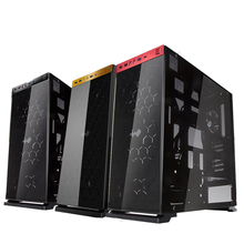 / 805 all-aluminum chassis through the whole glass ATX black / gold