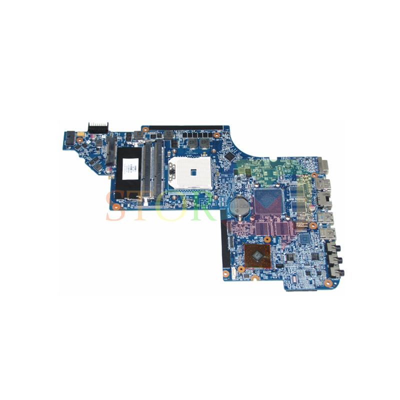NOKOTION for hp pavilion dv6-6000 series laptop motherboard 650849-001 socket FS1 DDR3 574680 001 1gb system board fit hp pavilion dv7 3089nr dv7 3000 series notebook pc motherboard 100% working