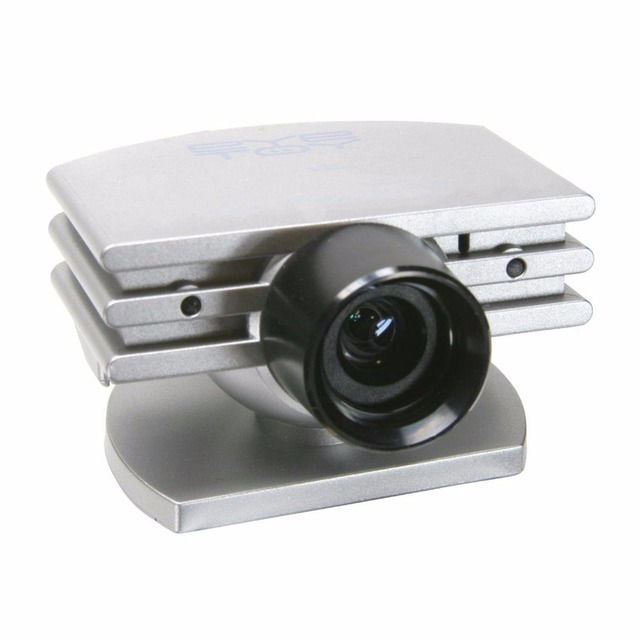 Câmera usb para ps2 câmera eye toy para o sony playstation 2 play station consola frete grátis 2 câmera de prata