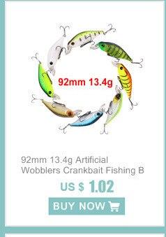 6 Pçs set 10cm 10g ABS Plástico