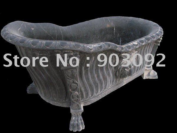 Granite marble limestone carved bathroom tub custom by for Limestone tub