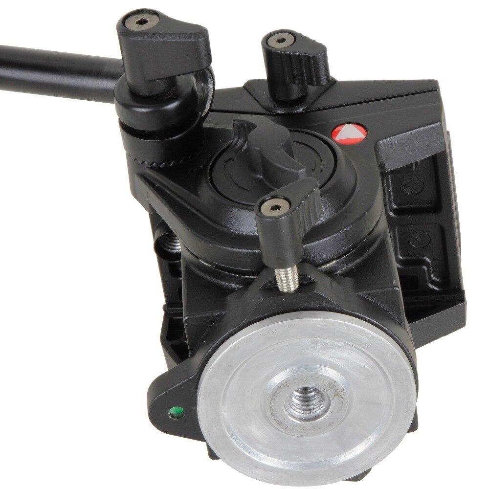 KINGJOY VT-3510 officielle tête de trépied panoramique tête vidéo fluide hydraulique pour trépied monopode support de caméra support Mobile SLR DSLR - 3