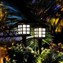 Retro Palace Solar Powered Lawn Light Garden Lawn Lamp Lands