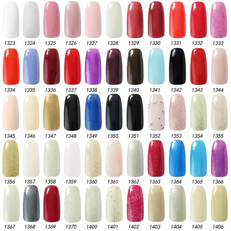 Choose 9 Colors from 302 IDO Gel Nail Polish Soak Off UV LED Nail ...