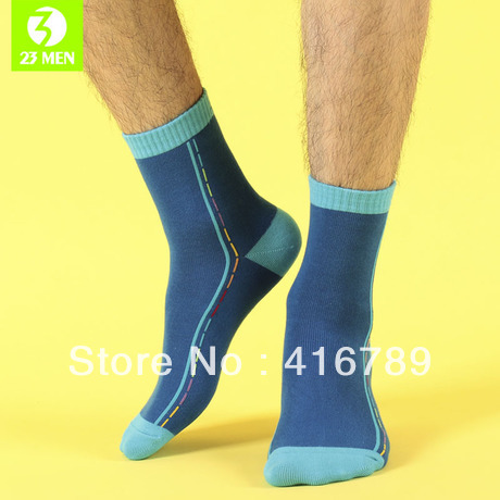 de55fffc191 Antiperspirant Men Cotton Autumn and Winter Thick Sports Knee-high Socks  Wholesale Free Shipping